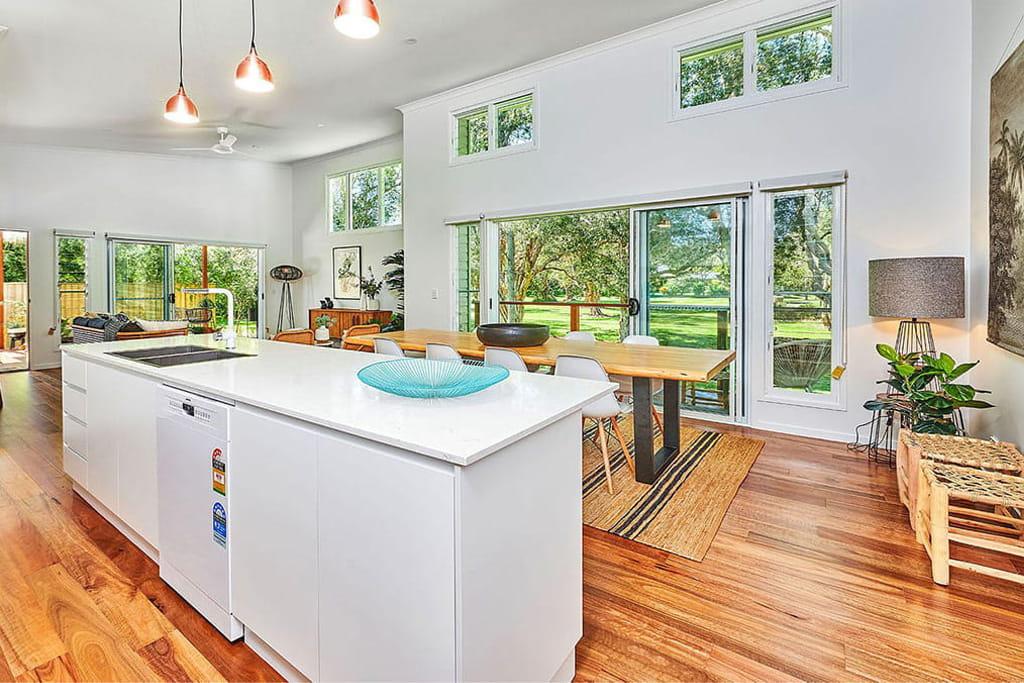 house ocean shores kitchen